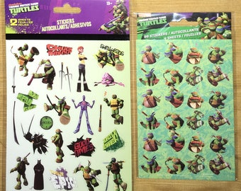 Brand New, Nickelodeon's Teenage Mutant Ninja Turtle Sticker Bundle, 125+ Stickers.