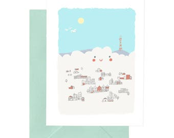 Happy Foggy Day Occasion Card