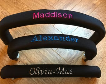 Personalised bumper bar cover to fit Bugaboo Cameleon Donkey Buffalo Frog  iCandy Peach