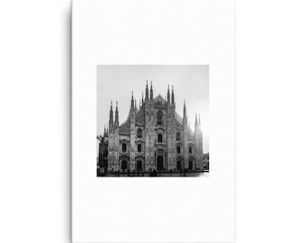 Duomo di Milano Italy Canvas, 1:100 Limited Edition// wall art // home decor // photography // photo // decoration