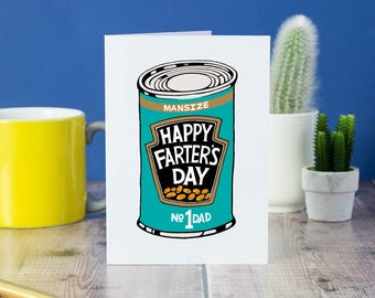Happy Farter's Day card
