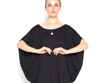 Hole Punch Cowl Tee