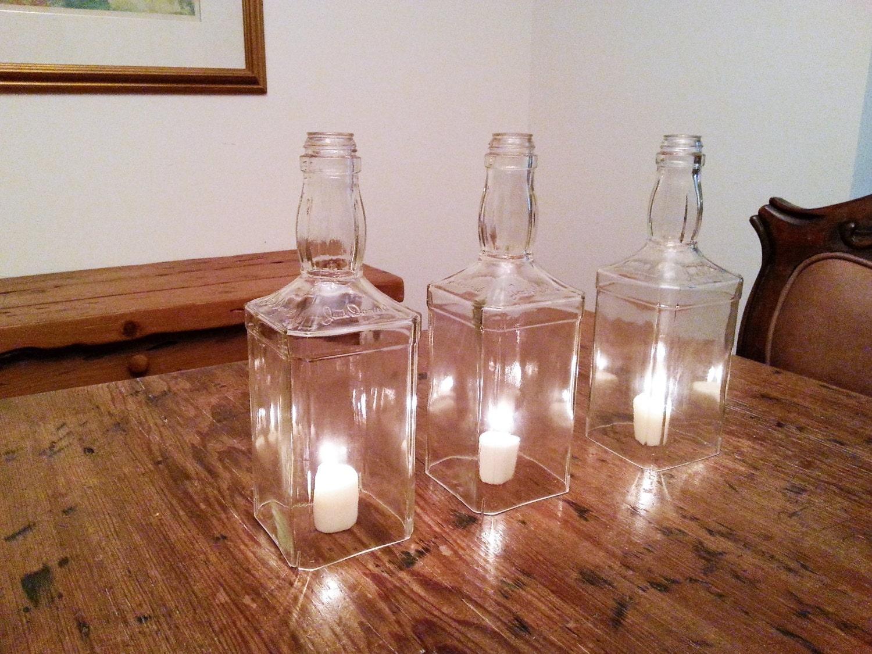 Sale jack daniels bottle hurricane lamp centerpiece lantern zoom arubaitofo Choice Image