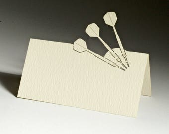 Darts Name Place Seating Cards (Pack of 10)