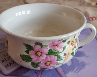 """Small Vintage """"Portmeirion"""" Chamber Pot- Potty- Planter- Made in England!"""