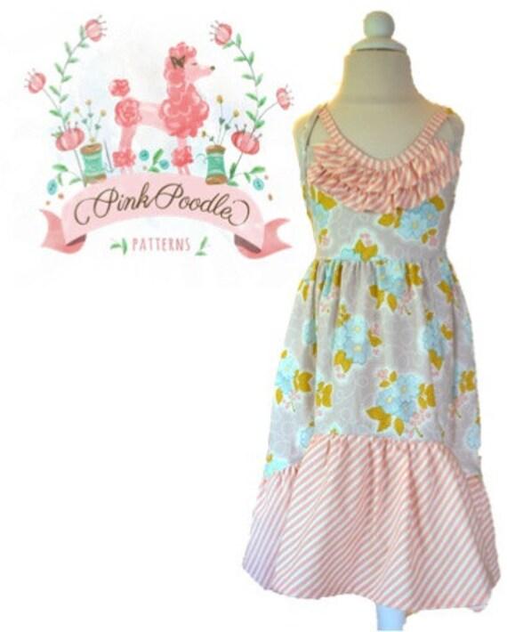 Girls Dress Pattern, PDF Sewing Patterns, Girls Sewing Pattern, Maxi ...