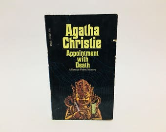 Vintage Mystery Book Appointment with Death by Agatha Christie 1978 Paperback