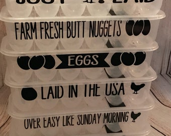 Egg Container Storage