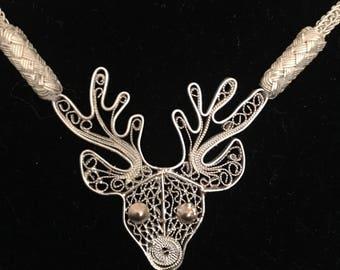 Christmas Reindeer necklace