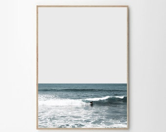 Photography, Surf Art, Surf Print, Beach Print, Blue Wall Art, Beach Wall Art, Poster, Prints, Large Wall Art, Wall Print, Wall Art, Artwork