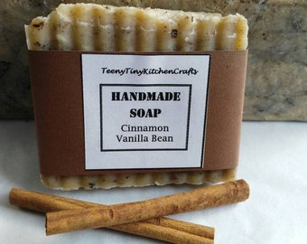 Cinnamon Vanilla Bean Soap