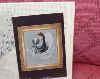 Vintage Lavender & Lace Victorian Designs 'Earth Angel' cross stitch pattern
