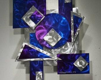 Wilmos Kovacs - Alex Kovacs Style, Abstract Metal Wall Sculpture, Metal Wall Art - W31