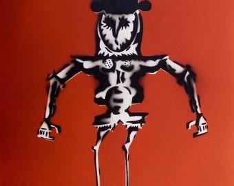 Mechanic Ibis Spraypaint stencil