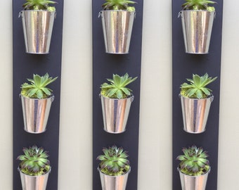 Planter wall hanging, great for herbs or succulents,