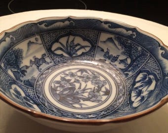 BLUE WILLOW BOWL plate China
