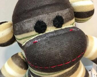 Bronson the Baby Friendly Sock Monkey