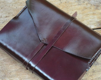 A5 The SMART Journal / Diary Cover / Refill /FREE initials / leather journal