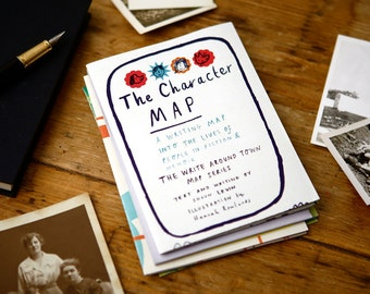 The Character Map: A Writing Map into the Lives of People in Fiction and Memoir