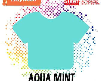 "Siser Easyweed Aqua Mint 15"" - Select your length!"