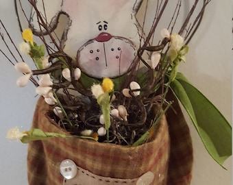 Spring Bunny Hanger (SWC101-PLD)