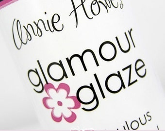 Glamour Glaze CRAFT GLAZE. The Best Glaze for Scrabble Pendants and Glass Pendants.