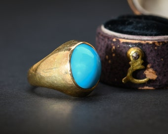 Victorian Gold & Turquoise Ring