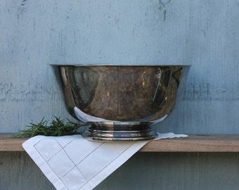 Paul Revere Reproduction Silverplate Bowl