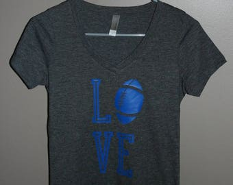Blue Love Football