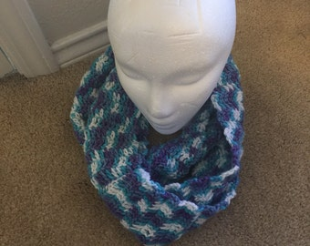 Sea Spray Infinity Scarf
