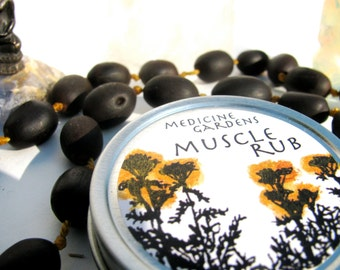 muscle rub-- a salve for sore and achy muscles