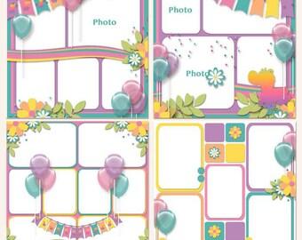 Magical Memories Digital Scrapbooking Templates