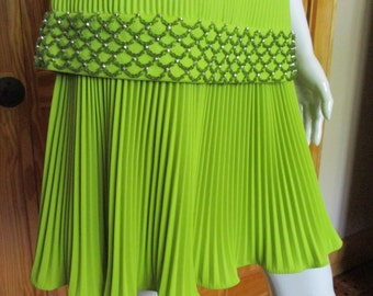 Vintage Fred Rothschild Green Dress