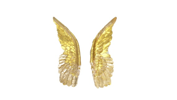 Large Gold Angel Wings Angel Wing Wall Decor Sympathy