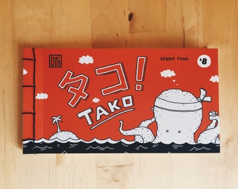 TAKO No. 1 - A 24-Page Book of Comic Strips (Limited Edition of 70)