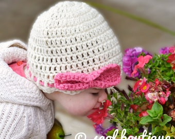 Crochet Pattern for Resale - The Big Bow Hat