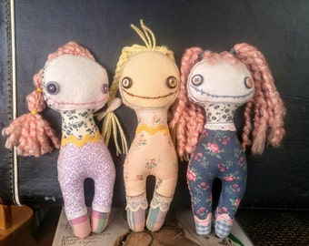 F*ck-it Doll - Handmade Monster Doll
