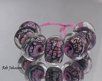 Farring Serpent, Artisan Lampwork Glass Beads, SRA, UK