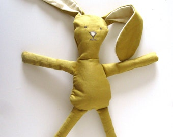 All Natural Toy Sunny Bunny Soft Doll Eco Friendly Toy