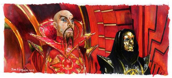 Flash Gordon - Klytus, I'm bored Poster Print