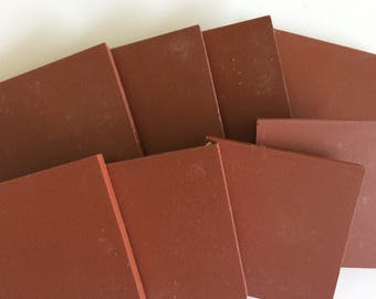 "2""Rouge unglazed Ceramic Tile-8pc//porcelain unglazed mosaic tile"