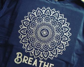 Breathe Mandala T-Shirt