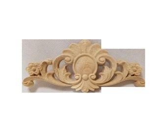 Wood Carving Decorative Onlay