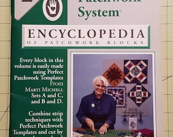 Perfect Patchwork System Volume 2 with Templates A & C or B and D, FREE SHIPPING
