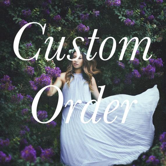 Custom Order- Add on service.