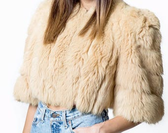 Super Soft Faux Fur Capelet