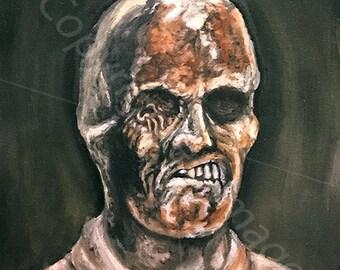 Fulci Zombie art print