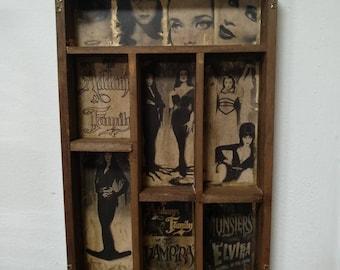Horror Queens Mod.1 Cabinet of curiosities