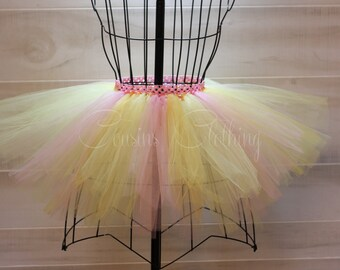 Running Tutu - Race Tutu - Adult Tutu - Yellow Tutu - Color Run Tutu - Marathon Tutu - 5K Tutu - Foam Dance - Fun Run Tutu - Sunburst Tutu