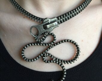 Small Octopus Loops Necklace